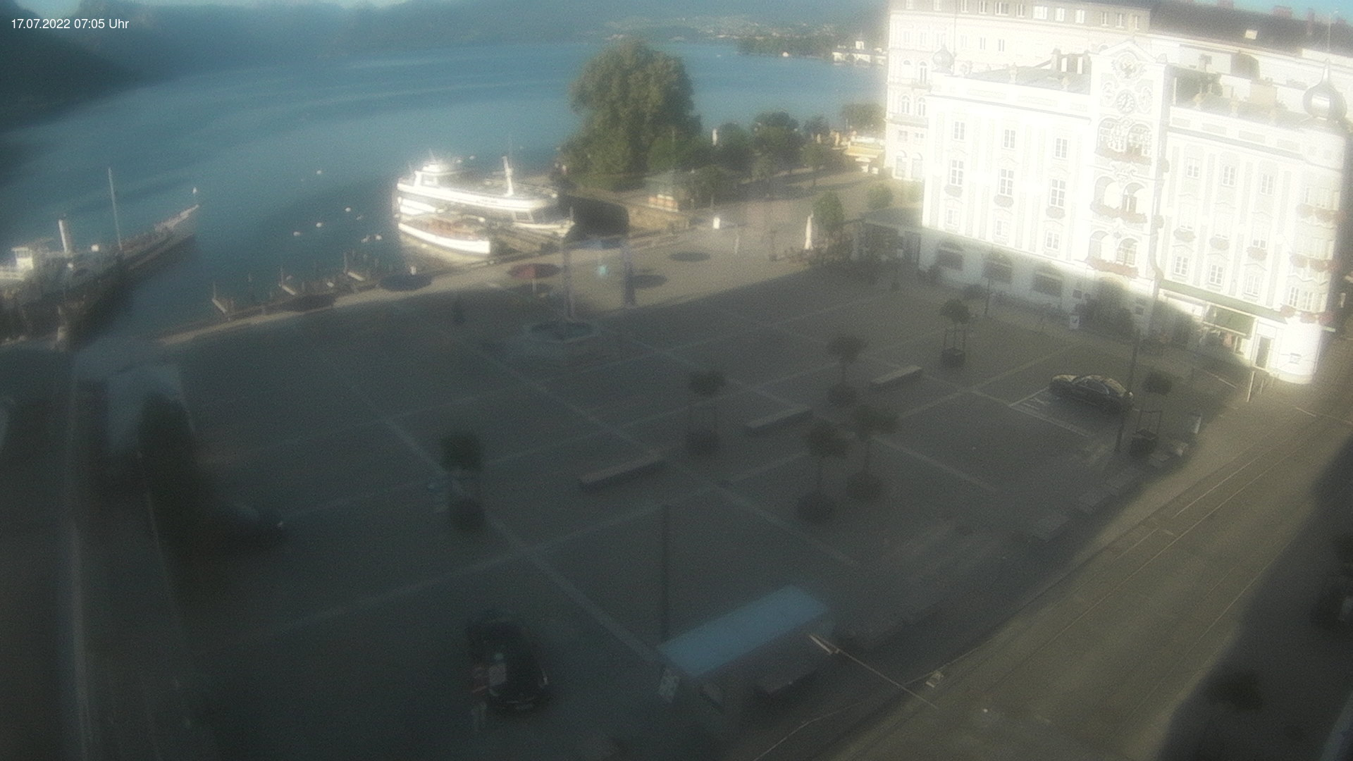 Webcam Rathausplatz Gmunden