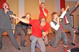 Altmünster: Sechs Vokal-Sir's auf der Bühne