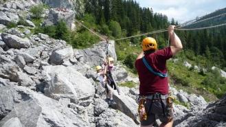 Bad Goisern: ein Abenteuertag im Fels