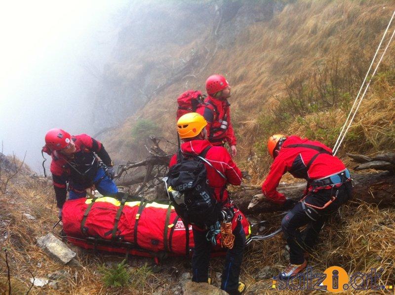 Bergsteiger Abgestürzt