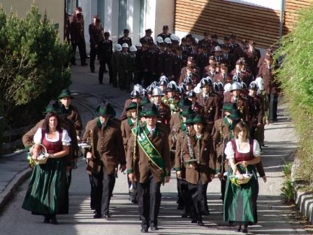 Traditionelle Floriani-Feierlichkeiten