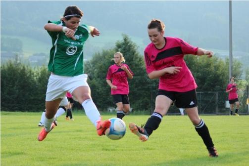 Frauenfußball in Vorbereitung