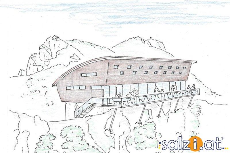 Gmunden: Traunsteinhaus der Naturfreunde wird zum neuen Landmark im Salzkammergut