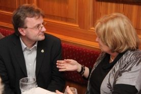 Hannes Heide startete Bürgermeistergespräche