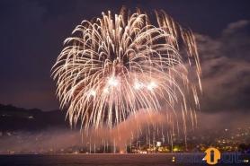 bombastisches Feuerwerk in Altmünster