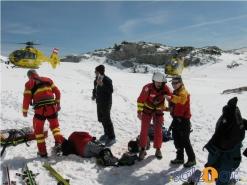 Fünf Tourengeher bei Schitour am Krippenstein abgestürzt