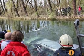 Familienvater stürzte mit Auto in Mühlbach