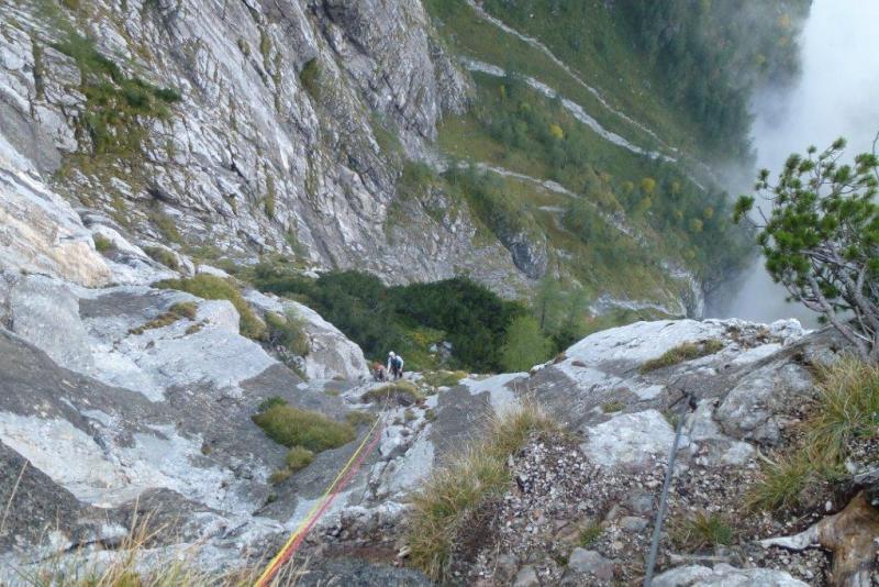 Klettersteig Seewand : Spektakuläre Übung im berüchtigten seewand klettersteig salzi at