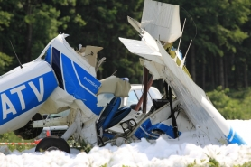 Tödlicher Flugzeugabsturz in Straßwalchen