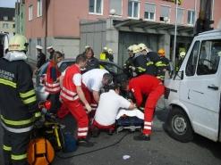 Attnang-Puchheim: Unfall am Europaplatz fordert eine Verletzte