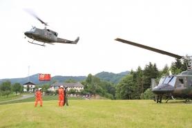 Waldbrandübung in Gschwandt