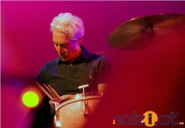 Charlie Watts mit Band in Bad Ischl