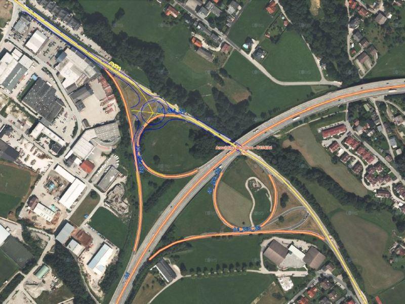 Spatenstich leitet Baubeginn für den Kreisverkehr an der A1 Anschlussstelle Mondsee ein | Grafik: Land OÖ