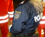 Rotes Kreuz und Polizei im Einsatz