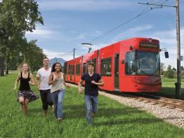 StadtRegioTram: Von der City ins Grüne, von der Region in die Stadt