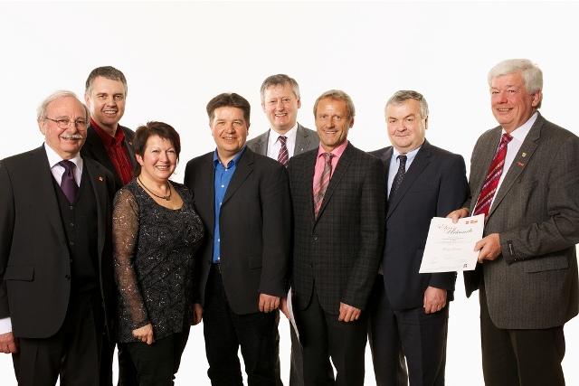 Richard Bernaschek-Nadel in Gold verliehen | Foto: SPÖ