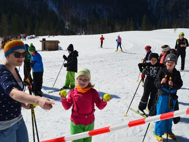 Tourismusschüler organisieren Langlauf-Event in der Rettenbachalm