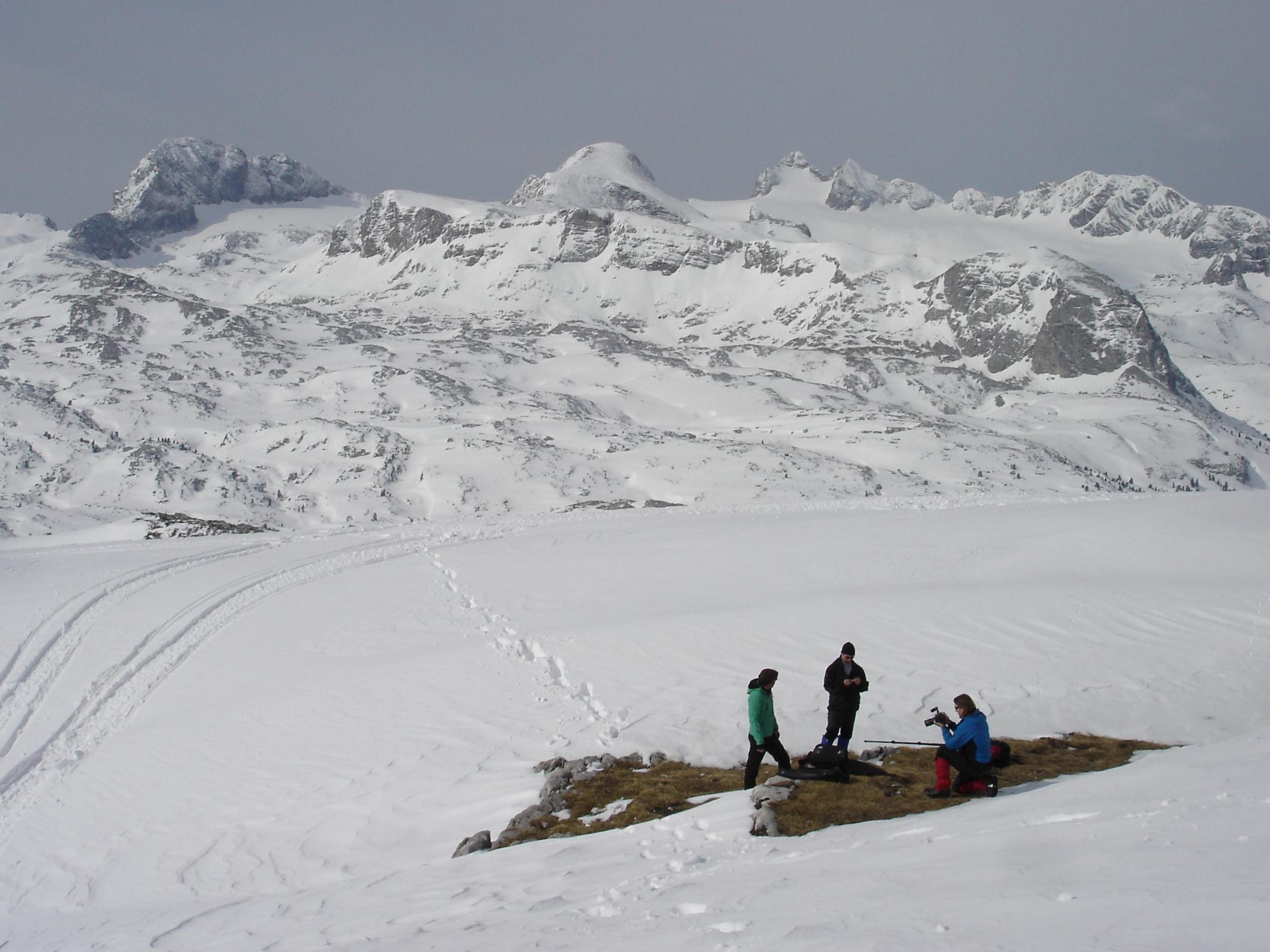 Spektakuläres Höhentraining am Dachstein im Salzkammergut