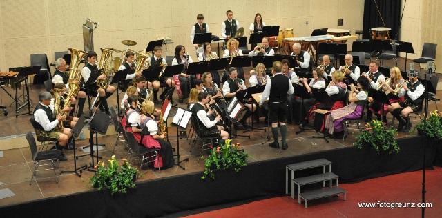 Gebirgsmusik Bad Goisern bei Wertung in Ohlsdorf ausgezeichnet