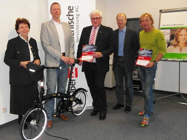 OÖ Versicherung bei E-Bike Veranstaltung in Bad Ischl