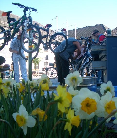 Kostenloser Fahrradcheck und Tauschmarkt in Regau