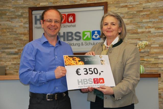 HBS Brandschutz zeigt Herz für Lebenshilfe
