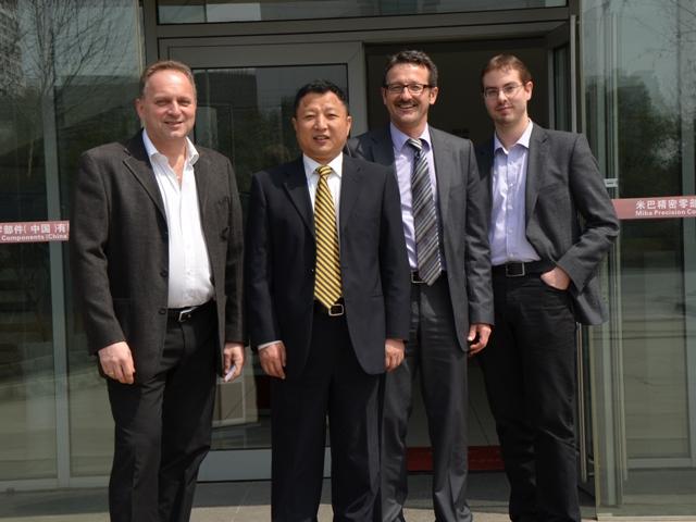 MIBA-Betriebsrat besucht chinesische Konzernniederlassung