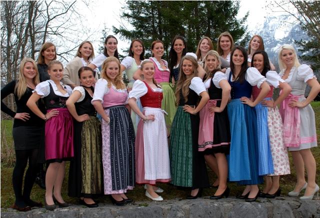 20 junge Österreicherinnen sind auf dem Weg zur Krönung