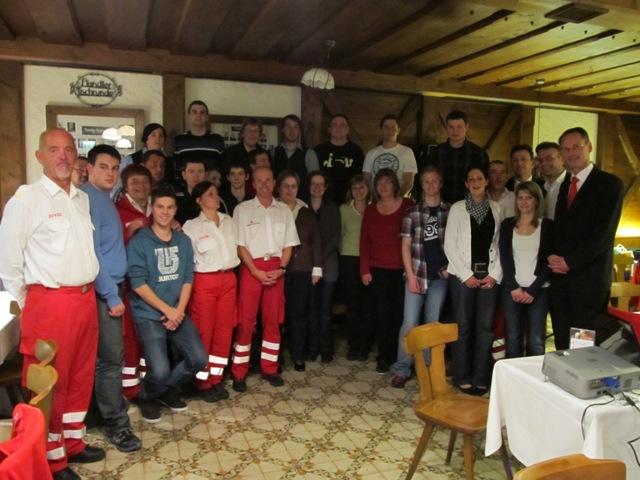 Rotkreuz-Ortsstelle Bad Ischl blickt auf ein arbeitsreiches Jahr 2011 zurück
