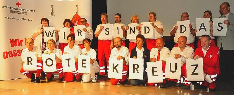 """1200 beim Roten Kreuz im Bezirk Vöcklabruck - das """"Netzwerk der Hilfe"""" sichtbar machen"""