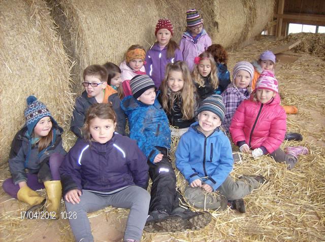 Bad Ischl: Schule am Bauernhof - ein Schultag einmal anders