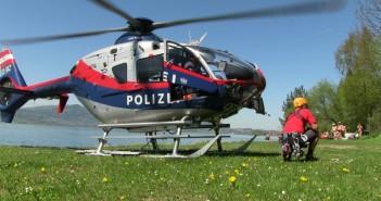 Gmunden: zwei Alpinisten mit Hubschrauber geborgen