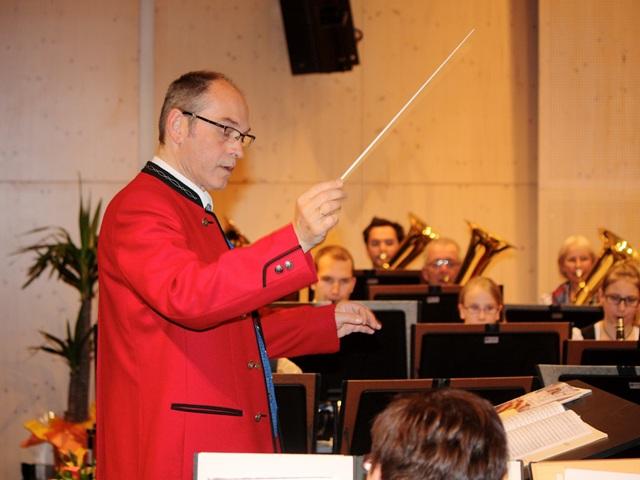 Musikverein Ohlsdorf beim diesjährigen Frühjahrskonzert