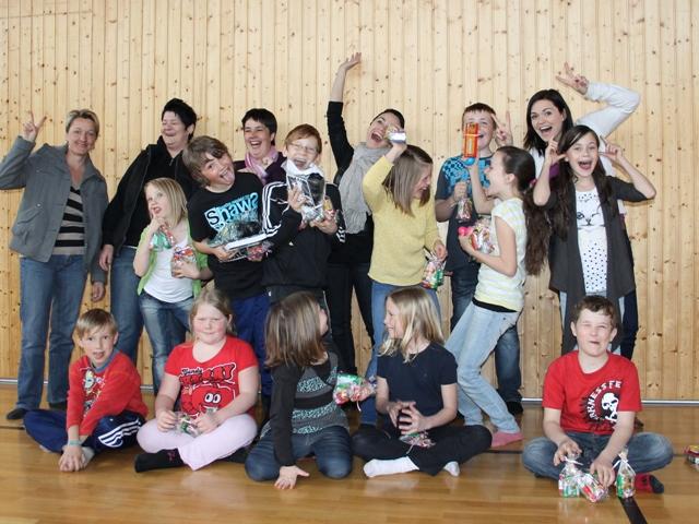Ostereiersuche der Kinderfreunde Gampern!