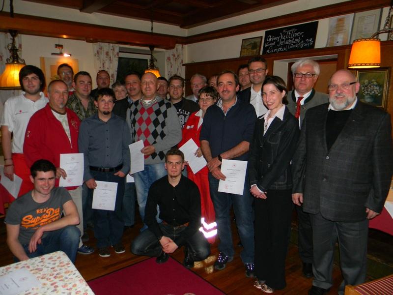 Neuwahl an der Ortsstelle des Roten Kreuzes in Ebensee