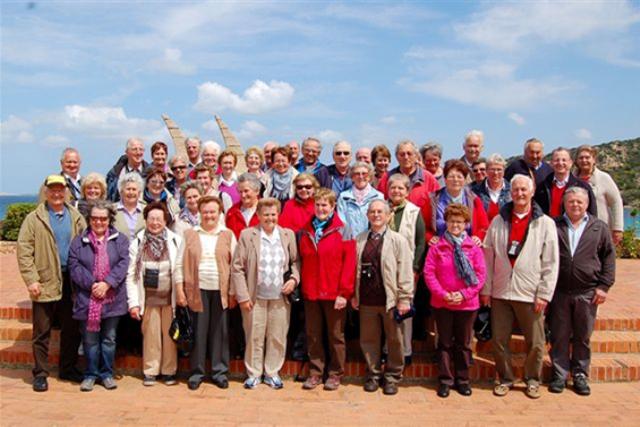 Seniorenbund Gschwandt mit Landesseniorenreise in Sardinien