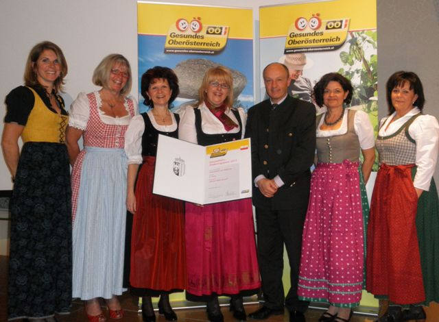 Gesunde Gemeinde Seewalchen - 2. Platz beim OÖ Gesundheitsförderungspreis 2012