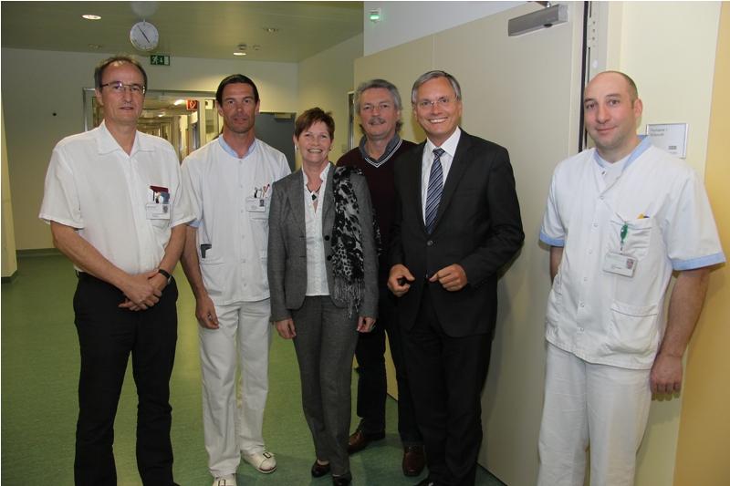 Gesundheitsminister Stöger besucht LKH Vöcklabruck