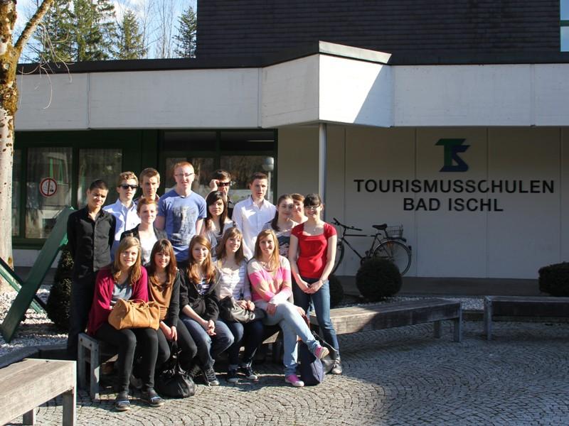 """""""Bad Ischl, c'est toujours magnifique!"""" - 16 Austauschschüler zu Gast in Bad Ischl"""