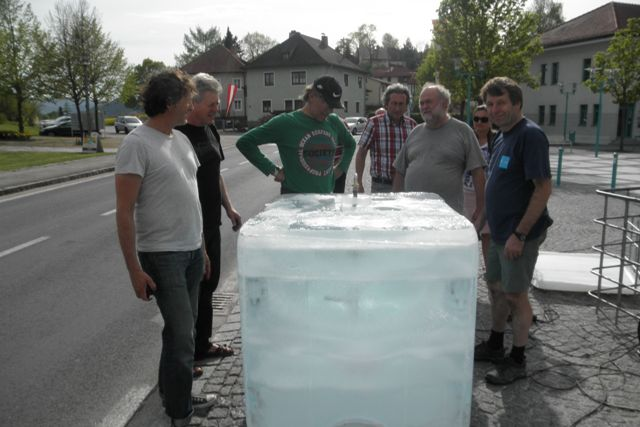 Seewalchen: Topp, die Eisblock-Wetter gilt