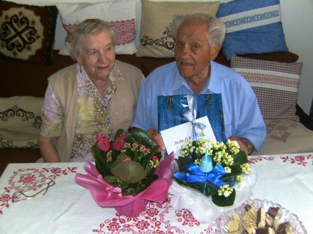KUV Ebensee gratuliert zur Eisernen Hochzeit