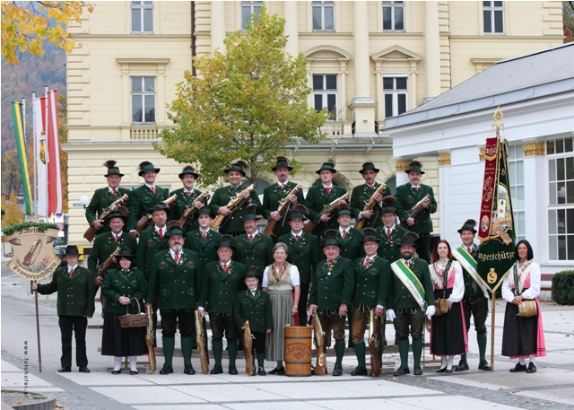 D' Ischler Prangerschützen feiern 25-jähriges Jubiläum
