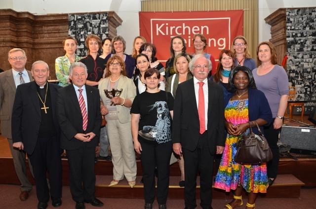 Solidaritätspreis für die Internationale Frauenbegegnung Vöcklabruck | Foto: KIZ/FRanz Litzlbauer