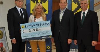 Raiffeisenbank Salzkammergut spendet 5.268 Euro für ein Projekt in Gambia