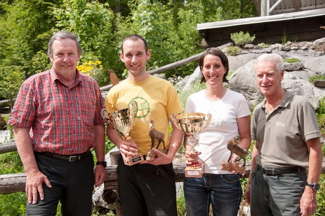 Geschwisterpaar siegte beim 65. Hochkogelriesentorlauf