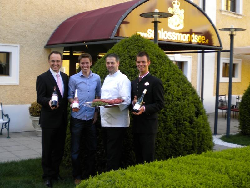 Spargel-Gourmetfest im Romantik Hotel Schloss Mondsee – mit Top Winzer Sax aus Langenlois