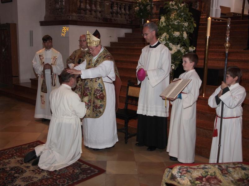 Mag. Frank Landgraf ist erster ständiger Diakon der Basilika Mondsee