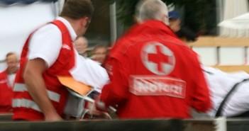 Rotes Kreuz Rettung im Einsatz