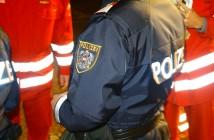 Polizei und Rettung im Einsatz