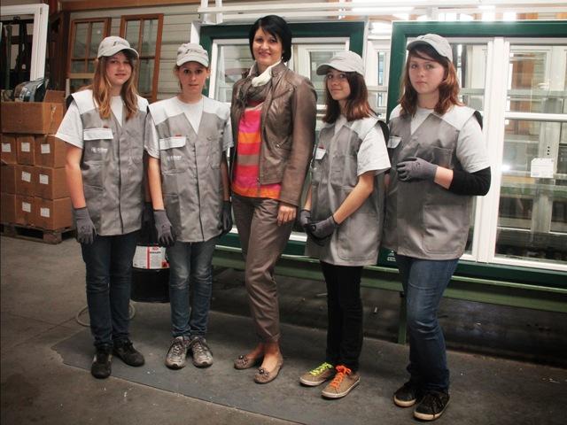 Silber Fensterbau fördert Mädchen für technische Berufe